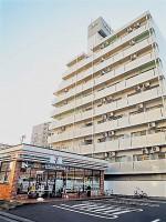 平塚駅徒歩7分!隣接地コンビニの便利な分譲マンション角部屋1K☆彡